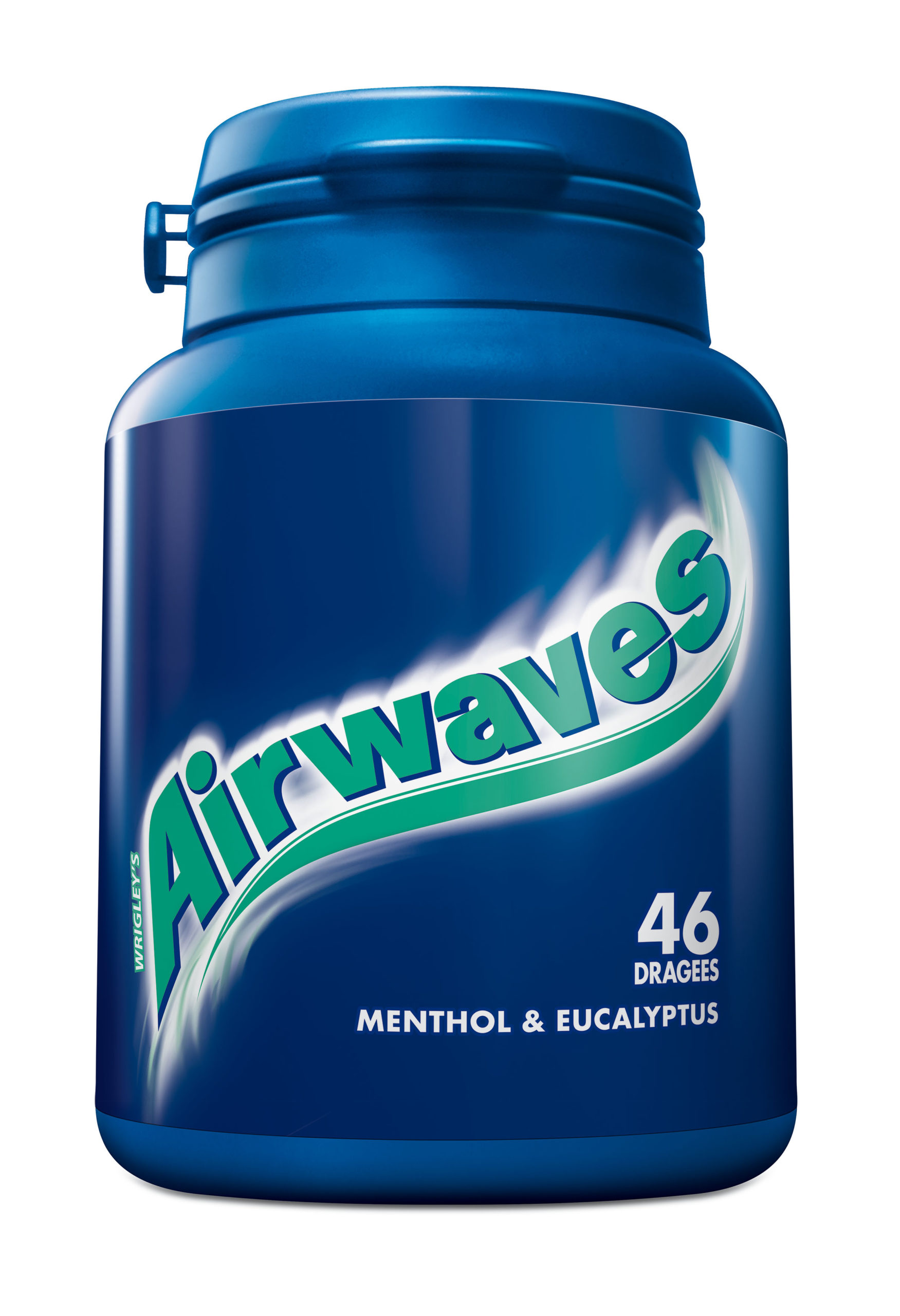 Airwaves bottle, menthol eucalyptus, boite de 6