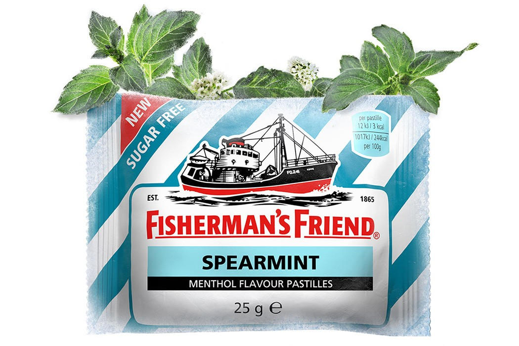 FISHERMAN'S FRIEND SPEARMINT BOITE DE 24