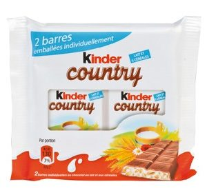 KINDER COUNTRY T2 Boite de 24