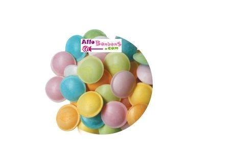 Soucoupes bonbon fruits 200 gr